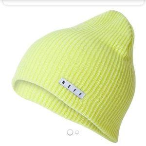 Neff beanie neon green/yellow unisex